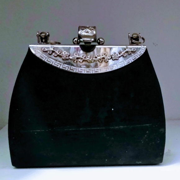 autumn shoes clearance prices no sale tax Black Clutch with Handle